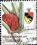 Stamps : Asia : Malaysia :  Intercambio nf4b 0,35 usd 20 cent. 1986