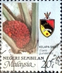 Stamps : Asia : Malaysia :  Intercambio 0,35 usd 20 cent. 1986