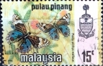 Stamps : Asia : Malaysia :  Intercambio 0,30 usd 15 cent. 1971