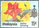 Stamps Malaysia -  Intercambio cxrf2 0,20 usd 15 cent. 1979