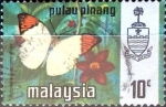 Stamps : Asia : Malaysia :  Intercambio 0,30 usd 10 cent. 1971