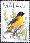 Stamps : Africa : Malawi :  Intercambio aexa 5,00 usd 10 k. 1994