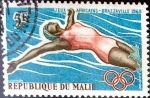 Stamps : Africa : Mali :  Intercambio 0,20 usd 5 francos 1965