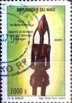 Sellos del Mundo : Africa : Mali : Intercambio aexa 3,50 usd 1000 francos 2004