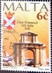 Stamps : Europe : Malta :  Intercambio 0,35 usd 6 cent. 1997