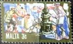Sellos de Europa - Malta -  Intercambio 0,20 usd 3 cent. 1981