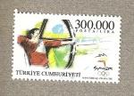 Stamps Asia - Turkey -  Tiro  con arco