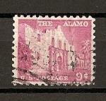 Sellos de America - Estados Unidos -  Serie Basica./ El Alamo.