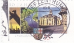 Stamps Germany -  panorámica del Rhin