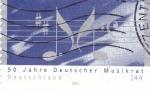 Sellos del Mundo : Europa : Alemania :  notas musicales