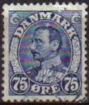 Stamps Denmark -  DINAMARCA 1934 Scott 241 Sello Rey Christian X usado