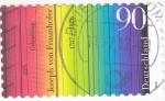 Stamps Germany -  Joseph von Fraunhofer 1787-1826