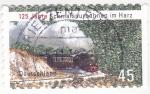 Sellos de Europa - Alemania -  tren de vapor