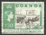 Stamps : Africa : Uganda :  48 - Río Nilo