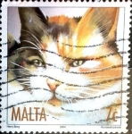 Stamps : Europe : Malta :  Intercambio 1,50 usd 7 cent. 2004