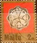 Stamps : Europe : Malta :  Intercambio 0,20 usd 2 miles. 1972