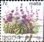 Stamps : Europe : Malta :  Intercambio 0,40 usd 7 cent. 2003
