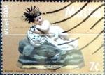 Stamps : Europe : Malta :  Intercambio 1,00 usd 7 cent. 2004