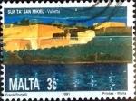 Stamps : Europe : Malta :  Intercambio 0,20 usd 3 cent. 1991