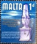Stamps : Europe : Malta :  Intercambio agm 0,20 usd 1 p. 1965