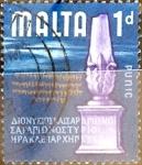 Sellos del Mundo : Europa : Malta : Intercambio 0,20 usd 1 p. 1965