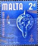Sellos del Mundo : Europa : Malta : Intercambio 0,20 usd 2 p. 1965