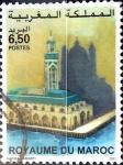 Stamps Morocco -  Intercambio 0,50 usd 6,5 dinares 2001