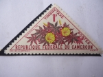 Stamps Africa - Cameroon -  Ipomoea Sp - Timbre Taxe - Republique Federale Du Cameroun.