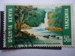 Stamps Tanzania -  Murchison Falls Uganda - Uganda - Kenya.