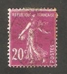 Sellos de Europa - Francia -  190 - Sembradora