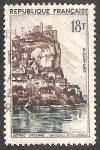 Stamps France -  1127 - Vista de Beynac Cazenac