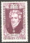 Stamps France -  1595 - Georges, Baron Cuvier