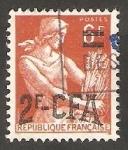 Sellos de Europa - Francia -  Reunión - 331 - Segadora