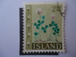 Stamps : Europe : Iceland :  Flores - Island