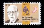 Sellos de America - México -  Dr. Bernardo Sepúlveda Gutiérrez