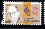 Sellos de America - México -  Dr. Ignacio Chávez Sánchez