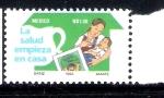 Sellos de America - México -  La salud empieza en casa
