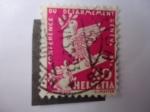 Stamps Switzerland -  Conferencia del Desarmamento en Ginebra.
