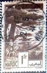 Sellos de Africa - Marruecos -  Intercambio 0,20 usd 1 franco 1939