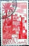 Stamps : Africa : Morocco :  Intercambio 0,35 usd 10 francos 1948