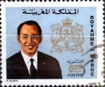 Stamps : Africa : Morocco :  Intercambio 0,20 usd 25 cent. 1973
