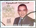 Stamps : Africa : Morocco :  Intercambio 0,85 usd 10 dinares 2001
