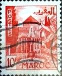 Stamps : Africa : Morocco :  Intercambio 0,40 usd 10 francos 1949