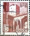 Stamps : Africa : Morocco :  Intercambio 0,20 usd 15 francos 1951