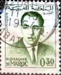 Stamps Morocco -  Intercambio 0,20 usd 30 cent. 1962
