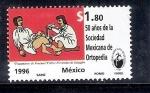 Sellos de America - México -  50 años de la Sociedad Mexicana de Ortopedia