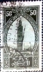 Stamps : Africa : Morocco :  Intercambio 0,20 usd 50 cent. 1927