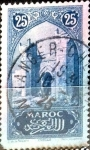 Stamps : Africa : Morocco :  25 cent. 1923