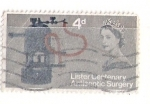 Sellos de Europa - Reino Unido -  Centenario de la Antisepsia Quirúrgica de Lister