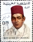 Sellos de Africa - Marruecos -  Intercambio 0,20 usd 25 cent. 1968
